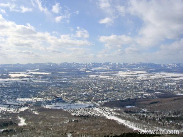 Поездка в Южно-Сахалинск в Марте 2009 года.