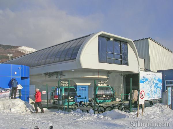 Нижняя станция канатной дороги в Южно-Сахалинске