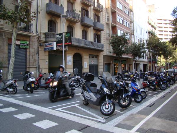 Мото в Барселоне