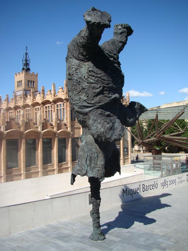 Слон в Барселоне
