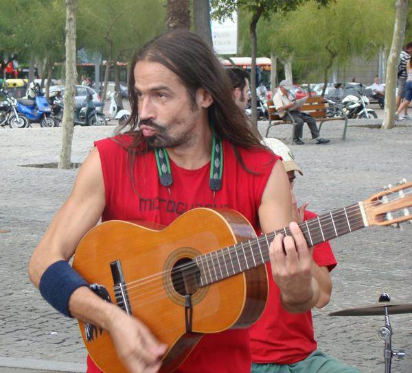 Музыканты в Барселоне
