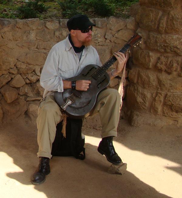 Музыкант в Барселоне