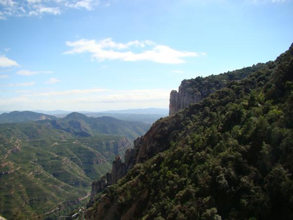 Гора Монтсеррат в Испании
