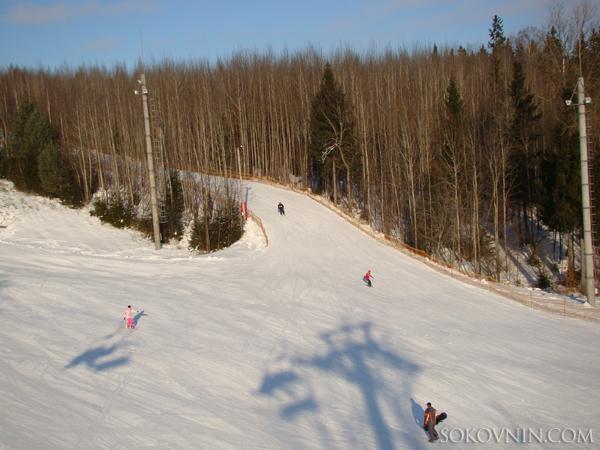 Сноуборд в Логойске