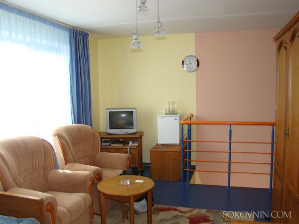 В гостинице в Силичах