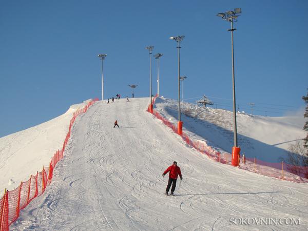 Горные лыжи в Силичах