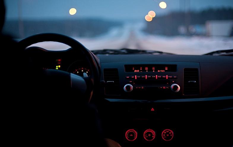 поездка в Логойск на машине