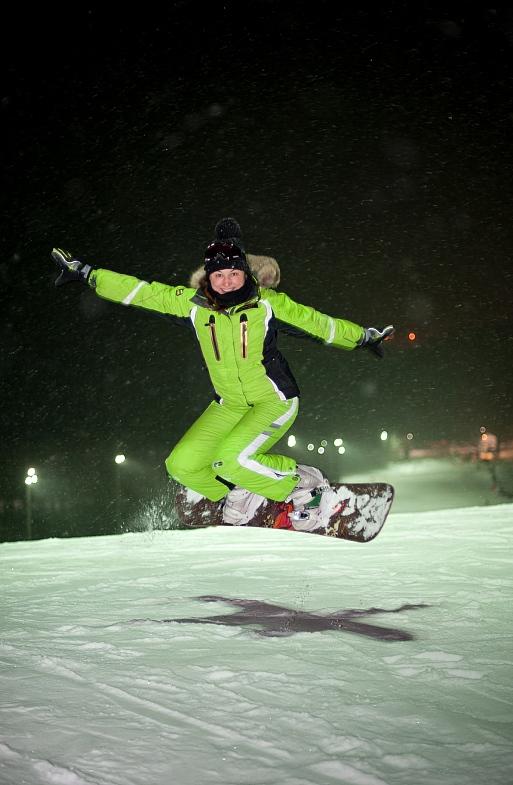 Сноубордин в Логойске