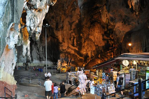 В пещере Batu Caves