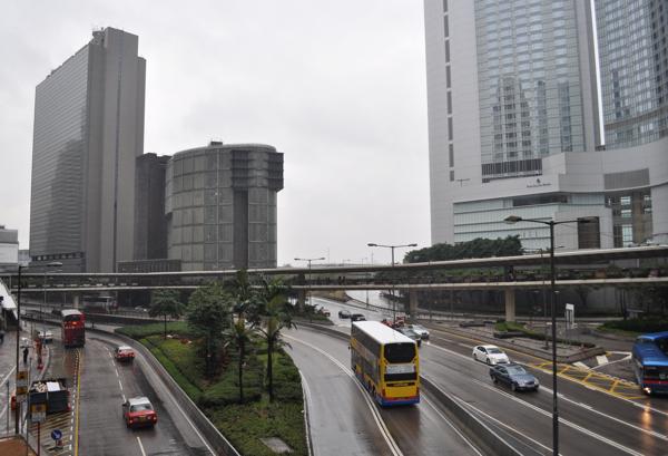 Дожди в Гонконге