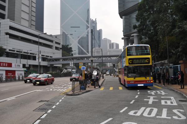 Автобусы в Гонконге