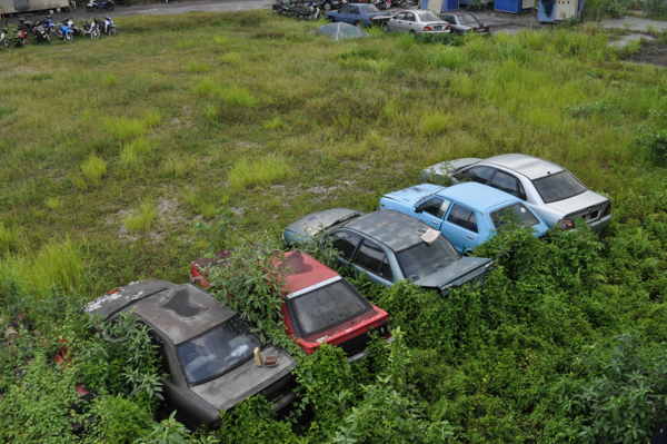 Машины в Куала-Лумпуре
