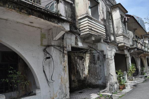 Развалины в Куала-Лумпуре