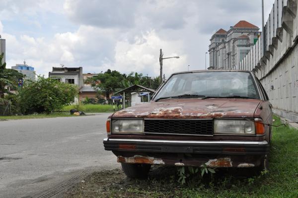 Старые машины в Куала-Лумпуре