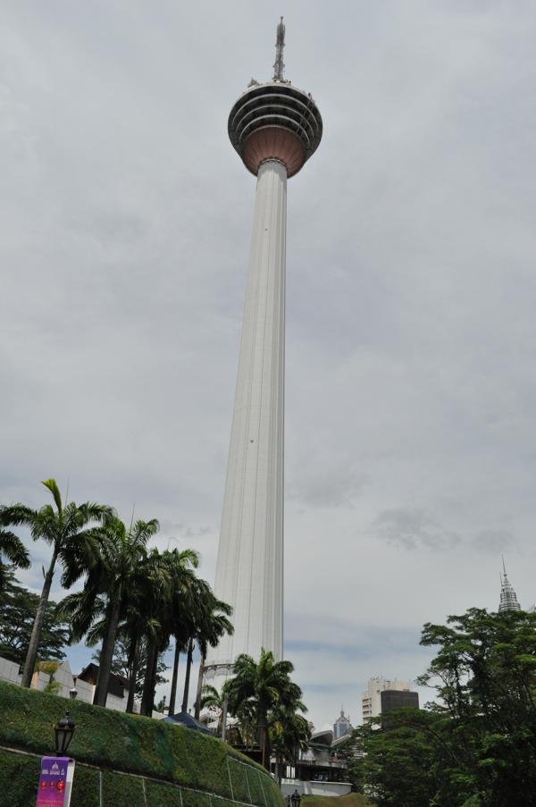 Телебашня Менара в Куала-Лумпуре