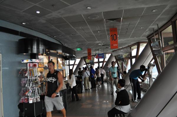 Смотровая площадка в башне Менара Куала Лумпур