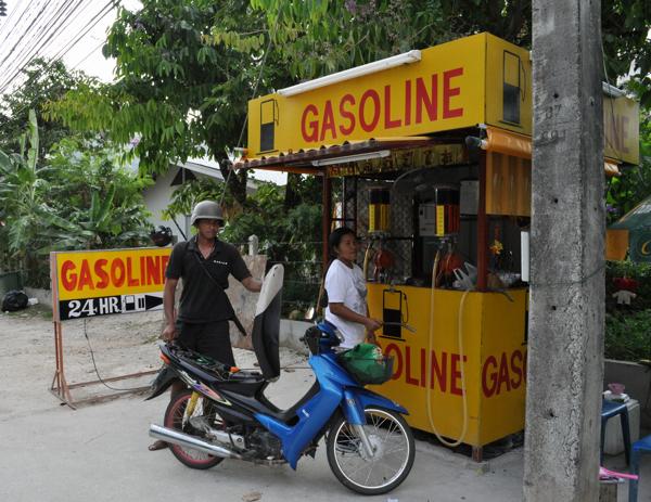 Бензин на Пхукете