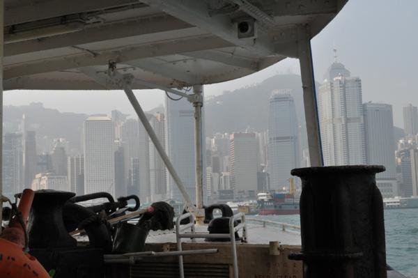 На пароме Star Ferry