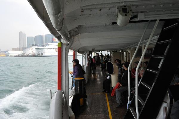На пароме в Гонконге