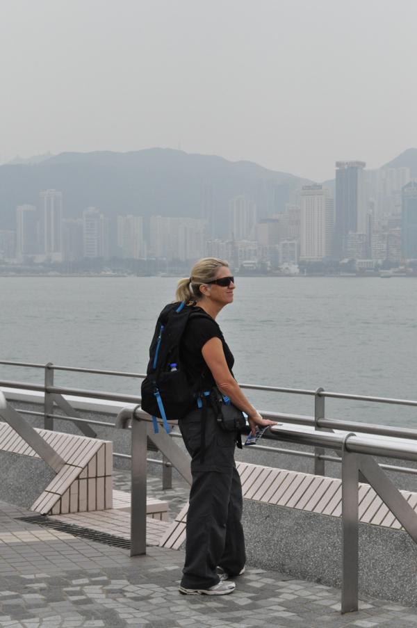 Путешественники в Гонконге