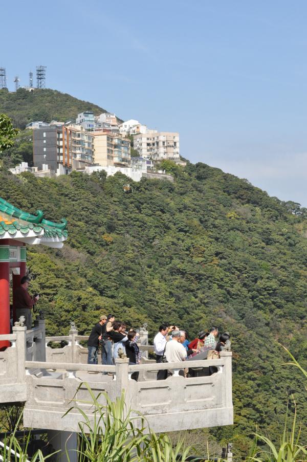 Смотровая площадка на пике Виктория в Гонконге