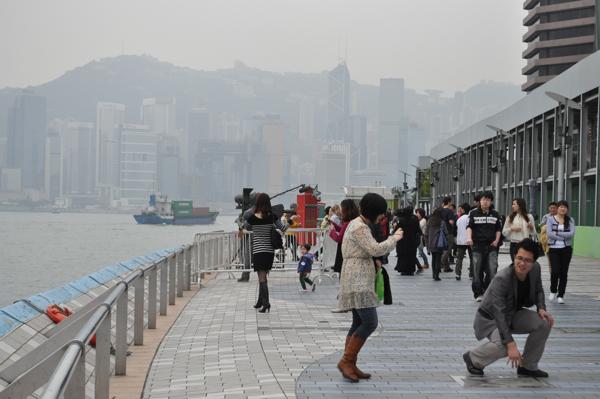 На Аллее Звезд в Гонконге