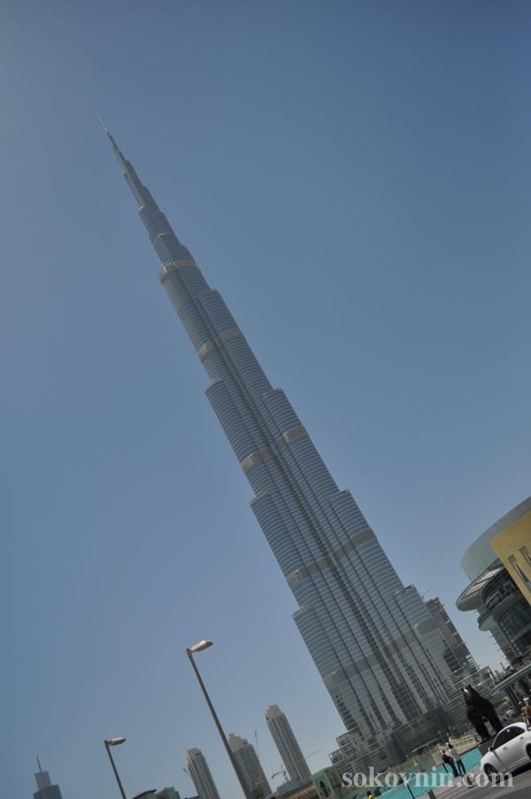 Башня в Дубае Burj Халифа