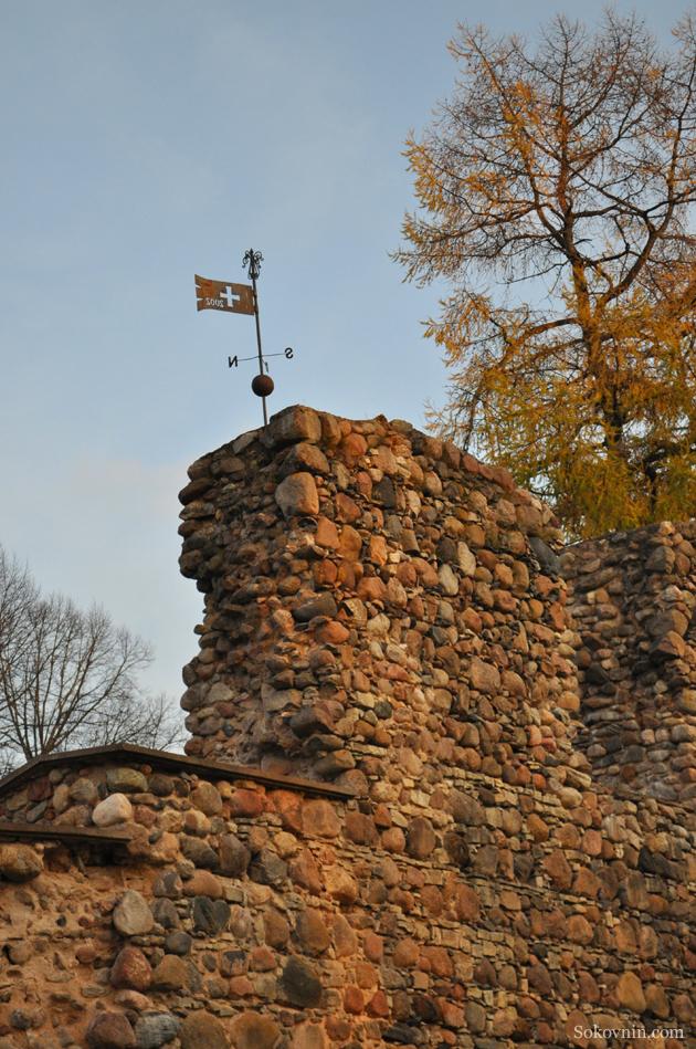 Крепость в Валмере