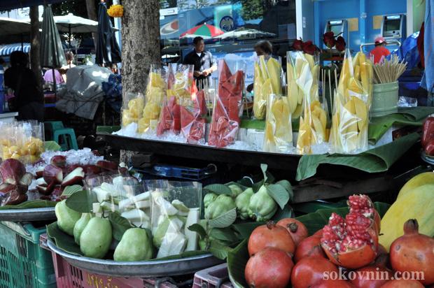 Фрукты в Бангкоке