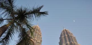 Башни близнецы Петронас в Куала-Лумпуре, Малайзия