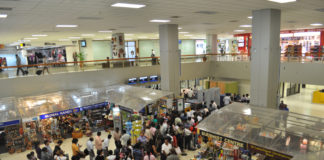 Аэропорт в Шри Ланке