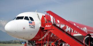 Самолёт авиакомпании AirAsia