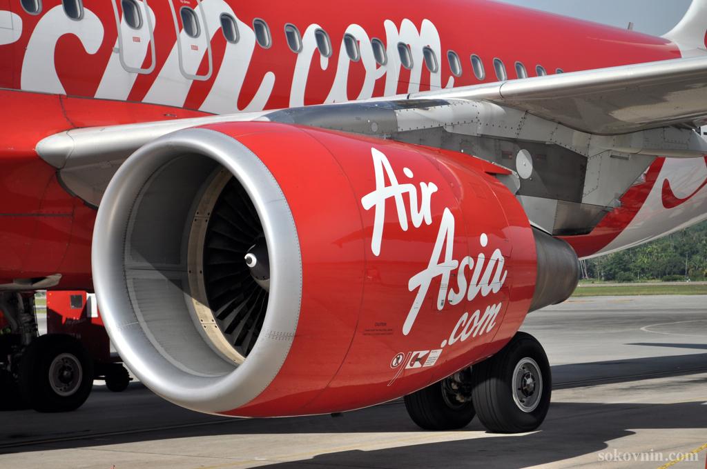 Авиакомпания лоукостер AirAsia