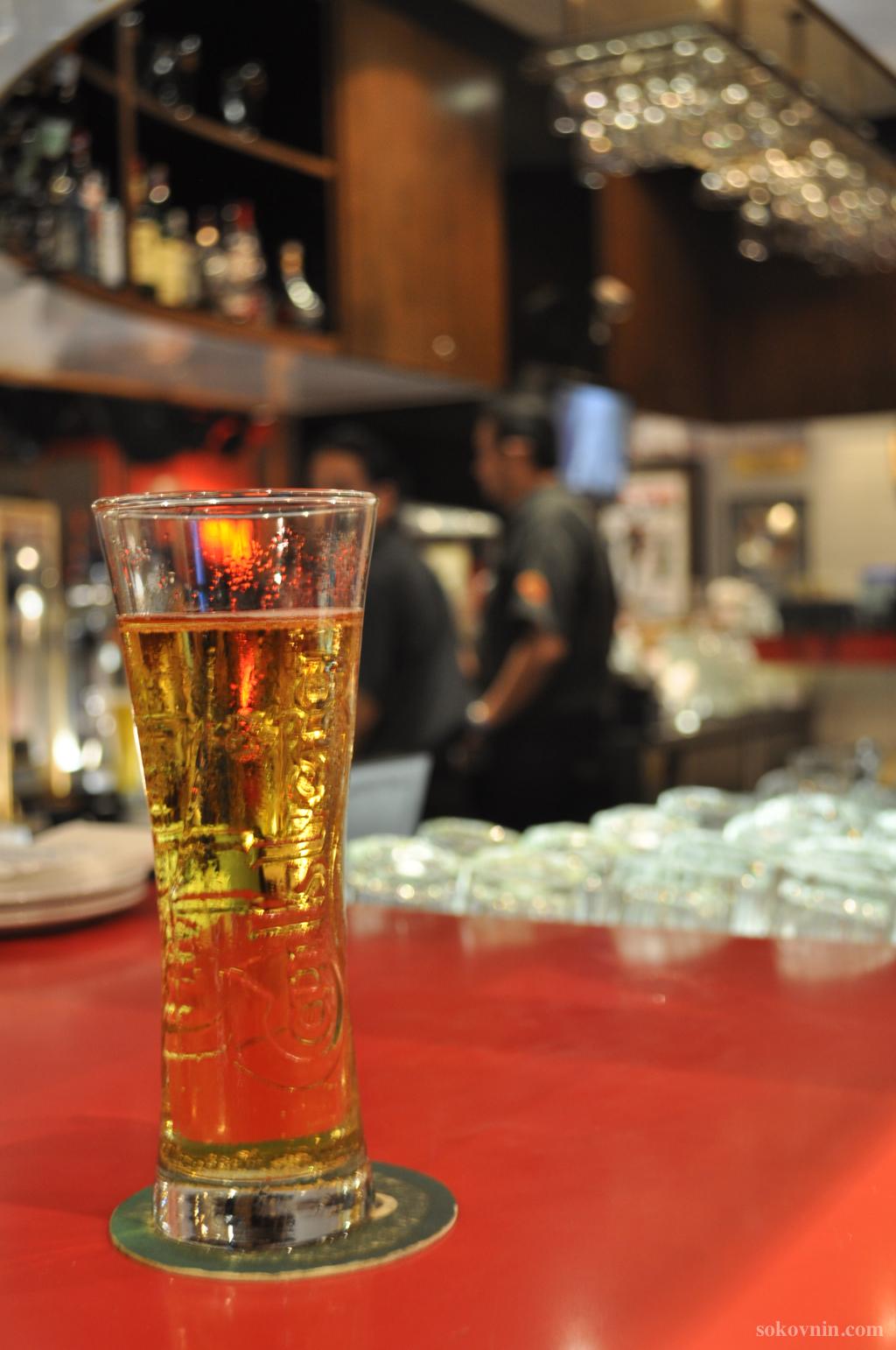 Пиво в ХардРок Кафе