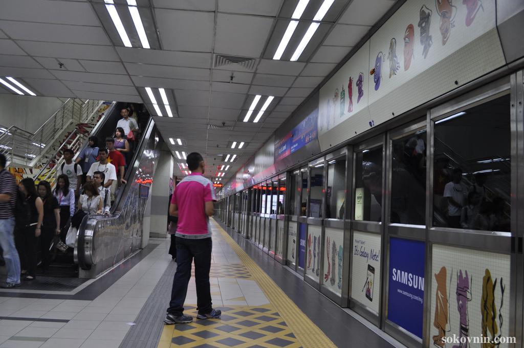 Метро в Куала-Лумпуре
