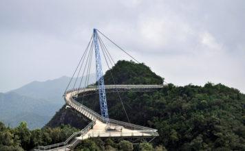 Подвесной мост на Лангкави