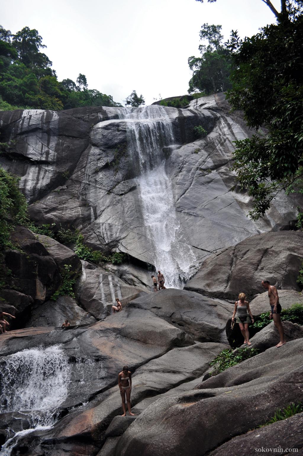 Водопад 7 колодцев на Лангкави