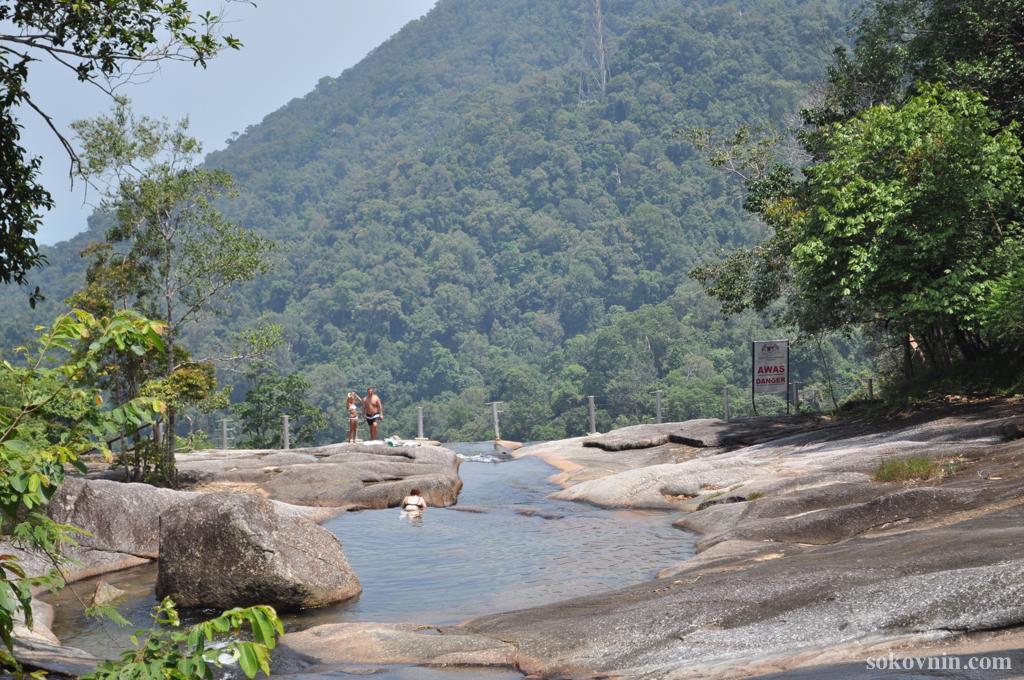 Водопад семь колодцев Лангкави