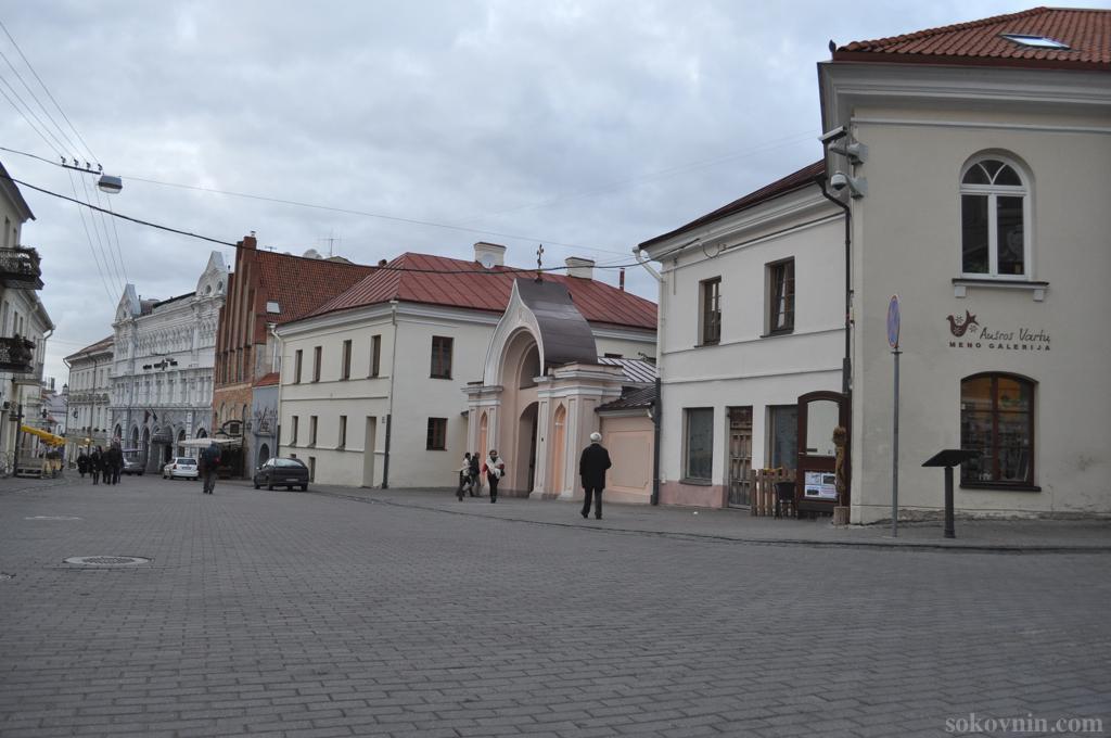 Старый город Вильнюс
