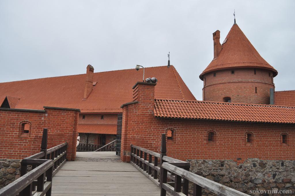 Замок Тракай в Литве