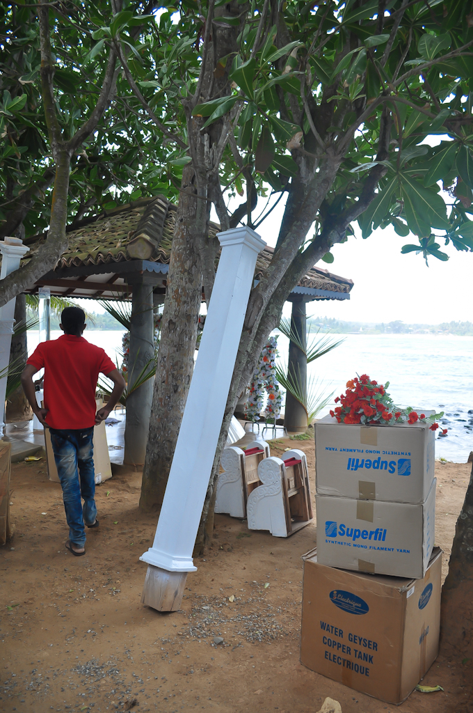 Подготовка к свадьбе на Шри-Ланке
