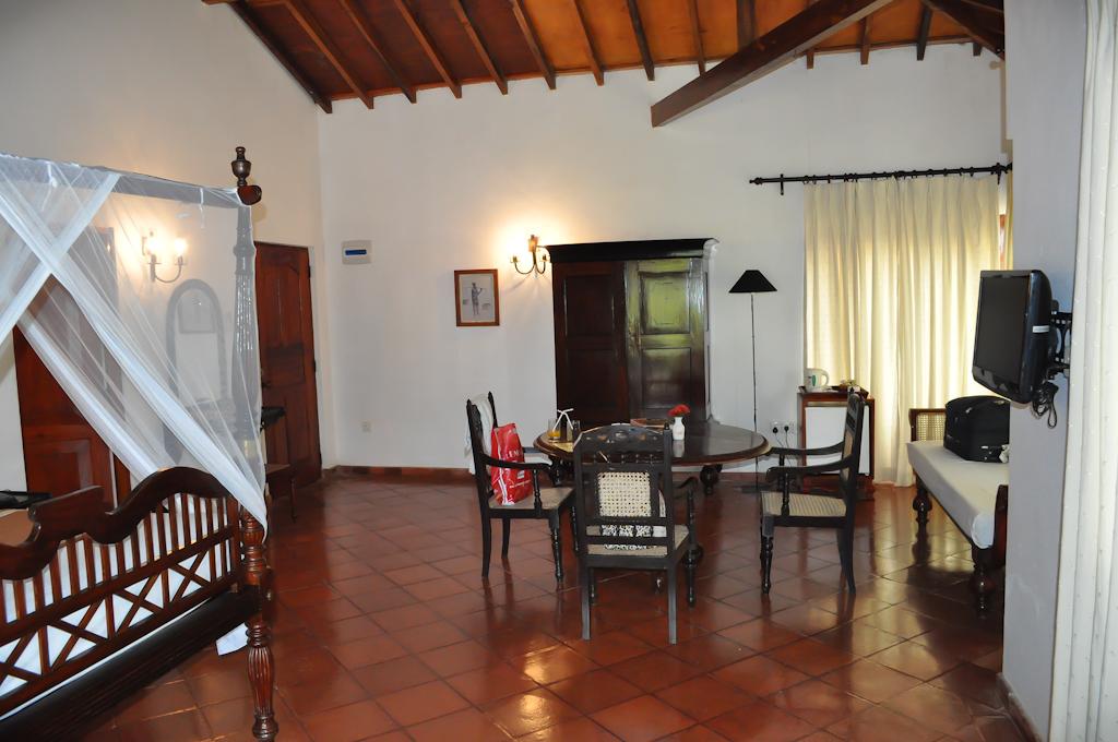 Наш номер в отеле Dickwella Resort на Шри-Ланке