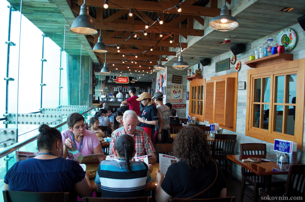Ресторан Бубба Гамп на Пике Виктория