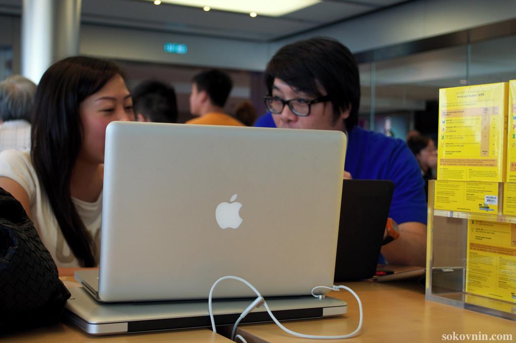 Купить MacBook в Гонконге