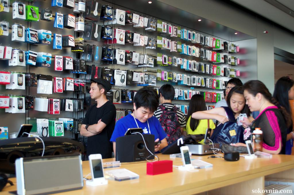Купить iPhone в Гонконге