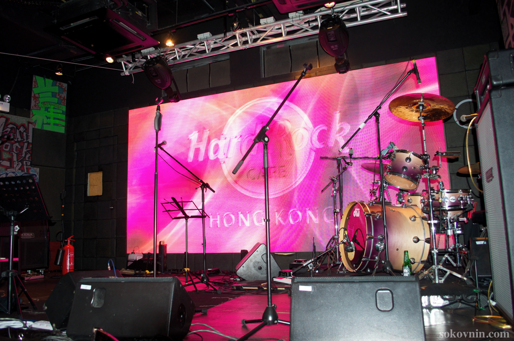 Сцена Hard Rock Cafe HongKong