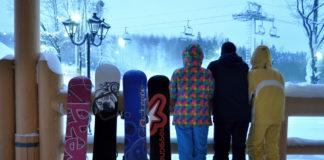 Открытие сноуборд сезона в Логойске