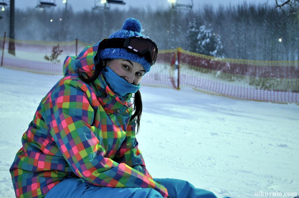 Открытие горнолыжного сезона в Логойске