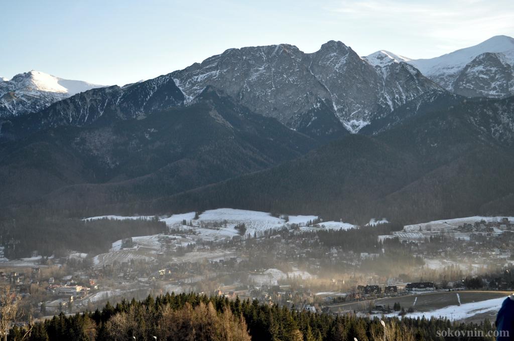 Вид на горы с Шимашковой поляны