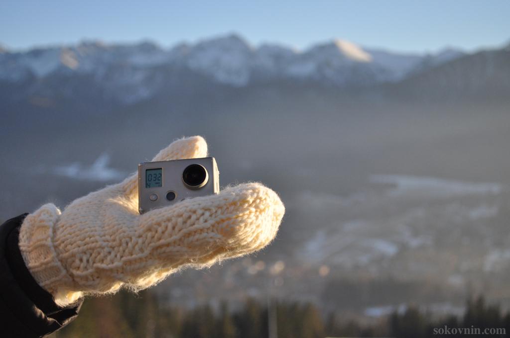 Мы снимаем видео на экшн камеру GoPro